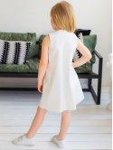 Красивое детское платье с рюшей 10042
