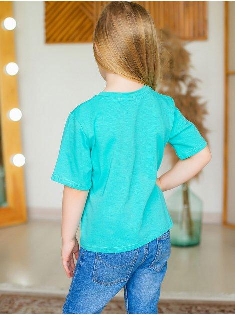 Стильная детская футболка с принтом 10022