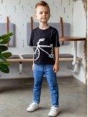 """Детская футболка с принтом """"велосипед"""" 10023"""