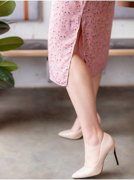 Очаровательное платье size+ на кулиске 3020