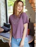 Удобная футболка с красивым принтом 2983