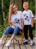 Белая футболка с принтом Disney 3043