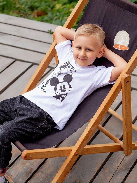Детская футболка с популярным принтом 10047