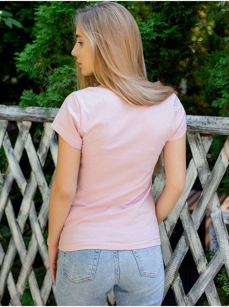 Стильная футболка с надписью 3080