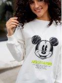 "Свитшот кроя оверсайз с принтом ""Mickey Mouse"" 3068"