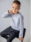 Стильный детский свитшот с принтом 10055