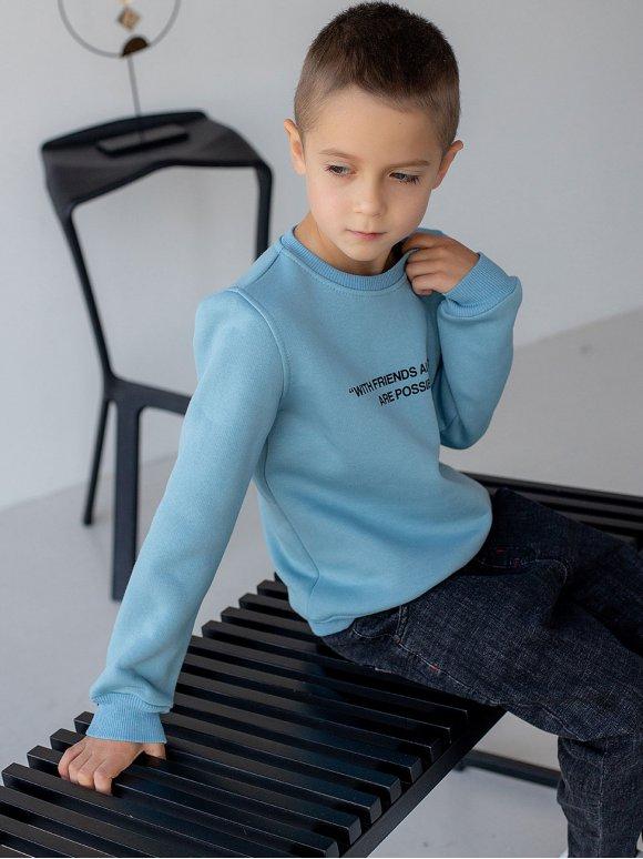 Актуальный детский свитшот с принтом 10067