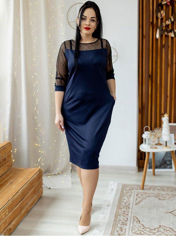 Нарядное платье size+ 3140