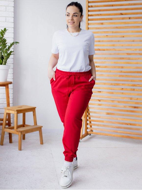 Спортивные штаны size+ 3176