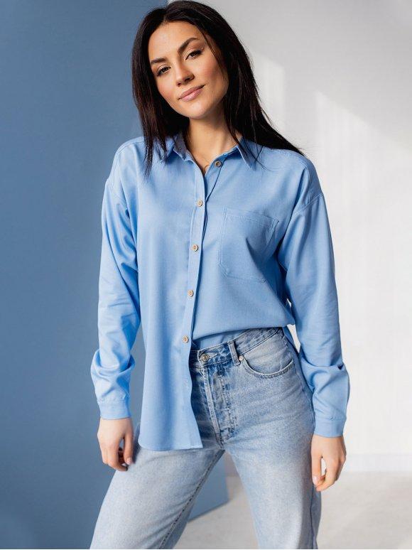 Джисовая рубашка женская 3083