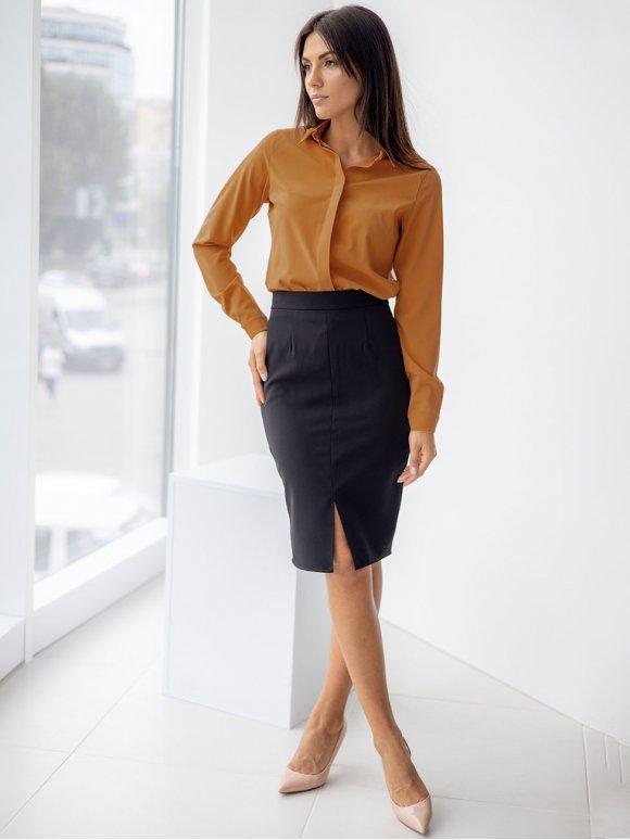 Классическая блуза с супатной застёжкой 3322