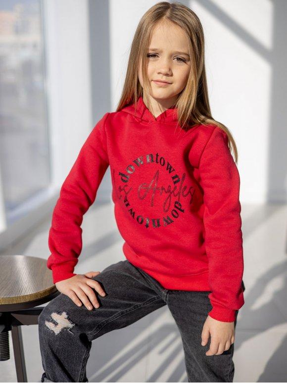 Модный детский худи с принтом 10098